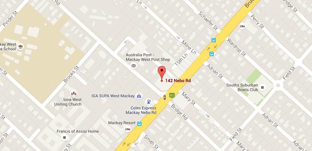 Mckay Australia Map.Home Mackay Family Medical Practice